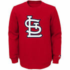 NWT Majestic St. Louis Cardinals Youth Red Our Team Pullover Sweatshirt on Ebay