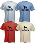BOXER DOG T SHIRT  All sizes available BOXER T-SHIRT