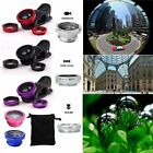 iphone 5 camera lenses reviews - For iPhone 6S Plus 6 7 5S 4 Fish Eye Wide Angle Macro 3 in1 Camera Clip-on Lens