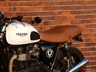 TRIUMPH THRUXTON 2004-2015 RIDER SEAT COVERS VINTAGE  LUIMOTO $150.0 USD on eBay