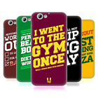 HEAD CASE DESIGNS FUNNY WORKOUT STATEMENTS HARD BACK CASE FOR HTC ONE A9s