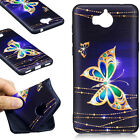Painted Skin TPU Fashion Soft Gel Embossing Cover Case Back For Huawei Y5(2017)