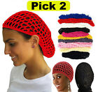 PICK 2 Thick Hair Net French Mesh Fish Net Hairnet Hair net Snood One Size