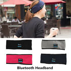 Wireless Bluetooth Sports Headband Stereo Headphone Handsfree Sleep Headset Mic