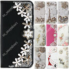 Luxury Pearls Diamond Case Phone Back Skin Women Cover Cases For SamsungGalaxy