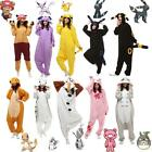 Unisex Pokemon One piece Cosplay Pajama Costume Night Sleepwear Jumpsuit