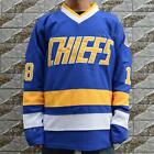 Hanson's Jeff #18 Jack #16 Steve #17 Charlestown Chiefs Hockey Movie Jersey