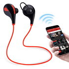 Wireless Bluetooth Headset Sport Headphone Stereo Wireless Earphone For iPhone 7