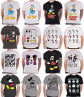 Disney T Shirt Official Mickey Mouse Donald Duck Frozen Olaf new mens