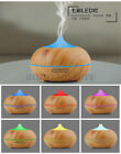 Aroma Essential Oil Diffuser Home Office Decor Ultrasonic Cool Mist Humidifier