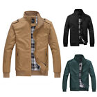 2017 Men's Slim collar jackets fashion jacket Tops Casual coat outerwear New