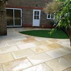 Sawn Smooth Ivory Mint Indian sandstone paving slabs flags 900x600 Pavers ✔️