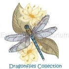 DRAGONFLIES COLLECTION - MACHINE EMBROIDERY DESIGNS ON CD