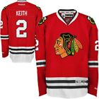 New Mens REEBOK NHL PREMIER JERSEY Duncan Keith Red Home Chicago Blackhawks