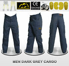 Men Motorbike Cargo Pants With Protective Lining And CE Approved Armour