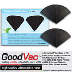 Activated Charcoal Cones 2 Pack Odor Filters Non OEM to fit Filter Queen Vacuuum