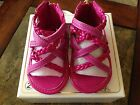 Michael Kors Baby Amy 888 infant girls pink zipper sandals shoes sizes 2, 3 NIB