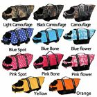 Pet Safety Vest Dog Life Jacket Preserver PuppyXS S M L XL Large Swimming Casual