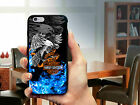 Eagle Shadow Harley Davidson Blue Fire For iPhone Case 6 6s 7 7 plus $19.37 CAD on eBay