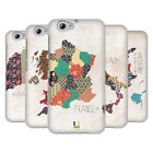 HEAD CASE DESIGNS PATTERNED MAPS SOFT GEL CASE FOR HTC ONE A9s