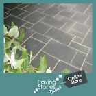 Black Indian Limestone Paving patio packs Mix Size 18.9m2 - Nationwide Delivery✔