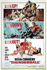 Posters USA - 007 Thunderball James Bond Movie Poster Glossy Finish - MOV188 $15.95 USD