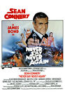 Posters USA - 007 Never Say Never Again Movie Poster Glossy Finish - MOV198 £12.5 GBP on eBay