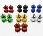 CNC 8mm Swingarm Swing Spools Spool Sliders Set For GSXR1100 GSX1300R Hayabusa