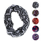 2 Pack: Chatties Ladies Sheer Infinity Fashion Scarf