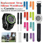 Silicone Wrist Band Strap for Garmin Approach S2/S4 GPS Golf Watch/Vivoactive AB