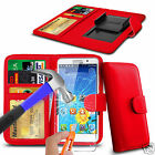 For Cubot S600 - Glass & Clip On PU Leather Wallet Case Cover