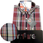 Warrior UK England Button Down Shirt HAWKING Hemd Slim-Fit Skinhead Mod SMALL