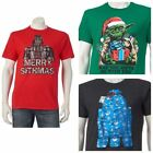 Men's Christmas shirt Star Wars R2D2 Yoda Vader tee size S M L XL 2XL NWT