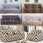 12 Pattern Floral L-Shaped Stretch Sofa Covers Couch Slipcover Decor Qualited