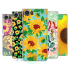 HEAD CASE DESIGNS SUNFLOWER HARD BACK CASE FOR BLACKBERRY KEYONE / MERCURY