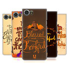 HEAD CASE DESIGNS THANKSGIVING TYPOGRAPHY CASE FOR BLACKBERRY KEYONE / MERCURY