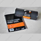 HEAVY DUTY BLACK RUBBLE SACKS / BUILDERS BAGS / GARDEN BAGS 30L