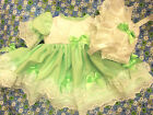 DREAM NB 0-3 MONTHS BABY GIRLS MINT TRADITIONAL DRESS BONNET  OR REBORN DOLLS