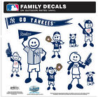 MLB Family Decal Set (Large) on Ebay