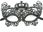 Women Girl Sexy Lace Eyemask Eye Mask for Halloween Masquerade Party Black