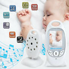 2.4GHz Digital LCD Color Baby Monitor 2-way Talk Audio Video Night Vision Camera