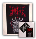 DEMILICH OFFICIAL PRINTED SEW-ON BACKPATCH + STICKERS, FREE SHIPPING!!!