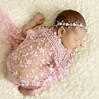 Newborn Maternity Props Baby Lace Quilt With Headband Photo Props Photography