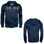 Lonsdale COUNTY Retro Hooded Tricot Training Jacket Sport Hoodie Slim-Fit