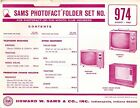 Sams Photofact Folder Set 974 - TV Radio Phonograph