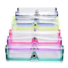 New Stylish Clear Transparent PVC Soft Eye Glasses Protector Box Case Holder LA