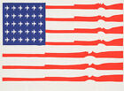 Choose Paper or Canvas POSTER.American flag.Military army Room art decor.q0248