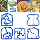 Lunch Kids DIY Sandwich Toast Cookies Cutter Mold Cake Bread Biscuit Food Mould