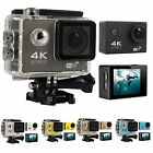 Внешний вид - 4K Ultra HD DV 16MP 1080p 60fps Sports Action Camera + Full Accessory Bundle