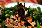 SNACK INSECT LIVE CRICKETS LEAPING CHIRPING FRIED  CRISPY GOOD FLAVOR NATURAL